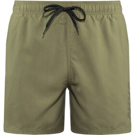 "Nike Swim Logo Solid Lap 5"" Volley Shorts Heren, medium olive"